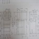 食品機器架台 図面・設計