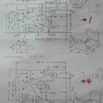 板金 機械架台付属品 設計