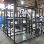 大型製缶 大型架台 架台製作 精密機械フレーム