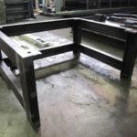 スチール架台 製缶 嵩上げ架台 機械架台
